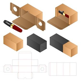 Бумажный пакет упаковочный шаблон 3d