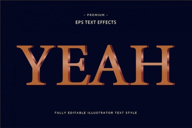 Ага 3d текстовый эффект