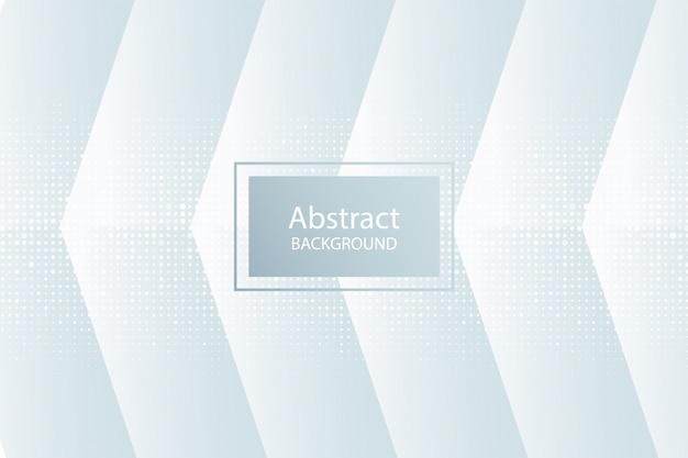 Белый 3d современный фон формы