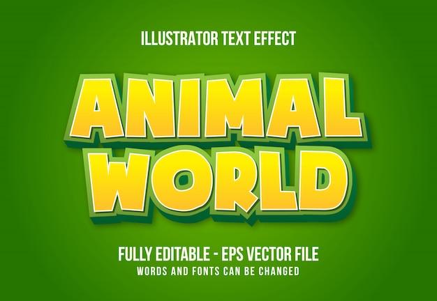 Современный 3d текстовый эффект редактируемый эффект шрифта