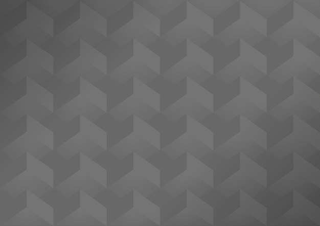 Серый 3d геометрический современный фон