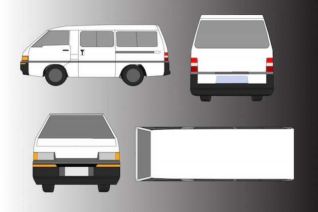 3d車のベクトル