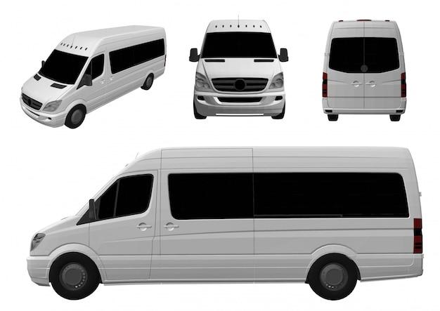 3d фургон