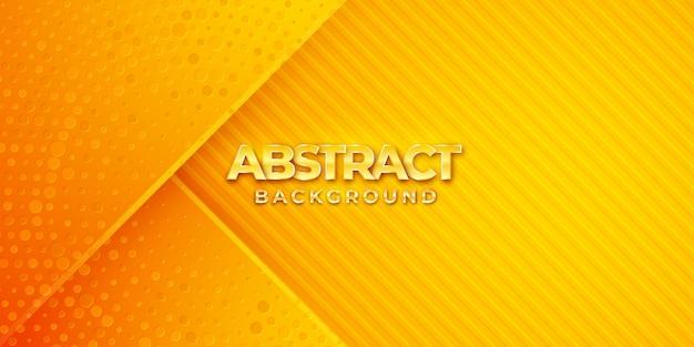 Современный текстурированный фон дизайн в стиле 3d с оранжевым цветом.