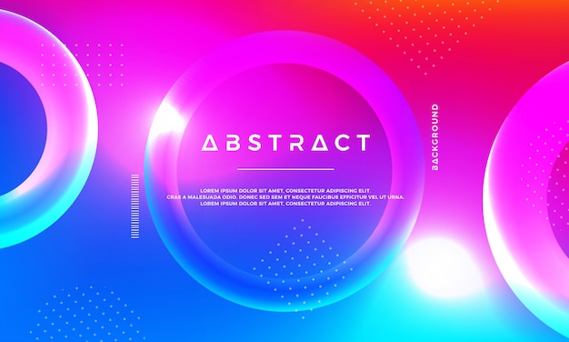 Абстрактный 3d современный фон вектор.