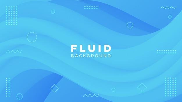 Современный дизайн 3d поток формы абстрактный фон