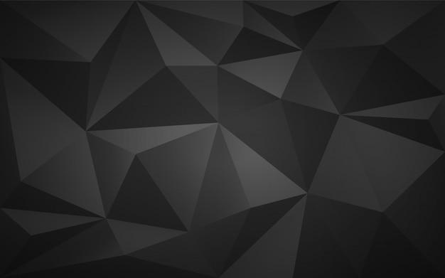 Низкополигональная темный фон 3d.