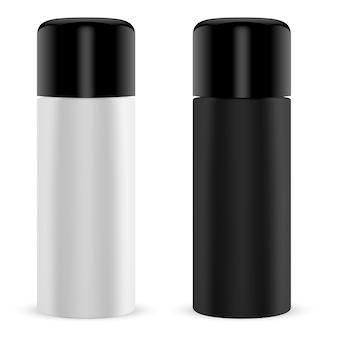 Краска спрей олова. цилиндр может 3d контейнер