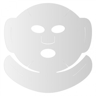 Маска для лица листовая. косметическое хлопковое лицо 3d