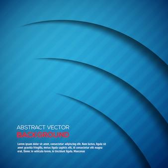 Абстрактный 3d фон синего цвета
