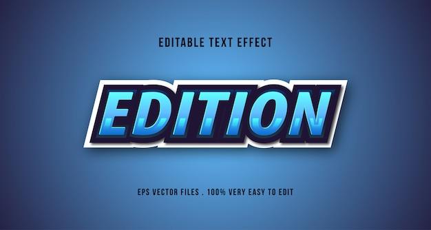 Эспорт 3d текстовый эффект, редактируемый текст