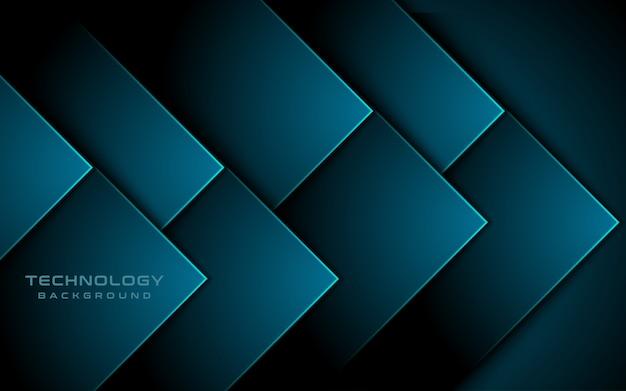 Синий свет 3d стрелка направление фон