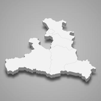 3d карта государства австрия