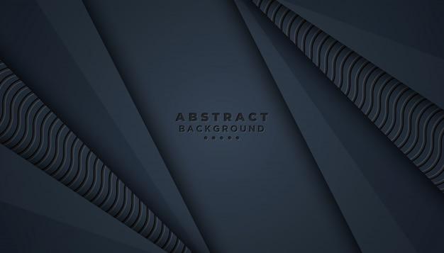 Темный абстрактный фон с 3d-стиле.