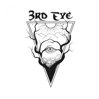 3rd eye drawing.
