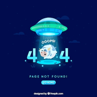 404 error background in flat style