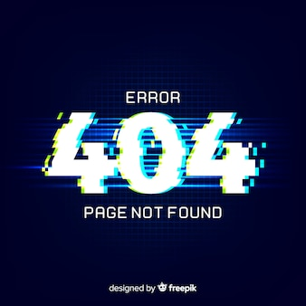 404 error background
