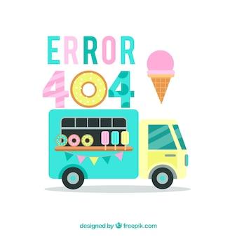 404 ошибка с мороженым