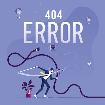 404 error page or file not found for web page