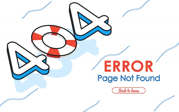 404  error page not found  in swimming pool