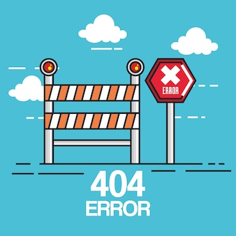 404 internet connection error icons