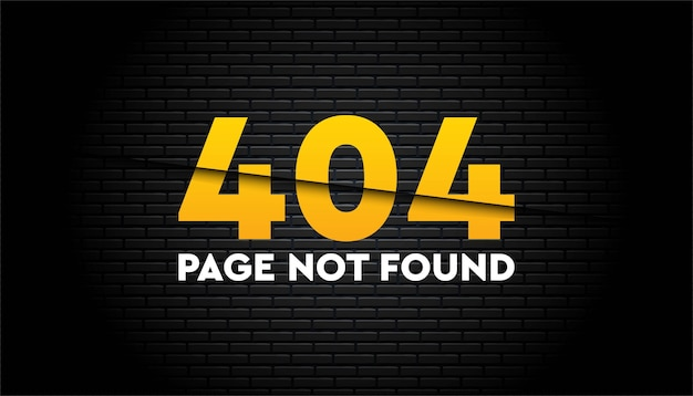 404 page not found   template.