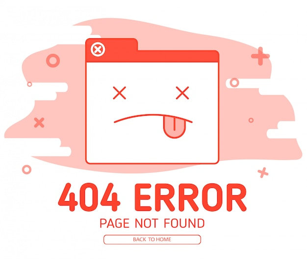 404 tab red