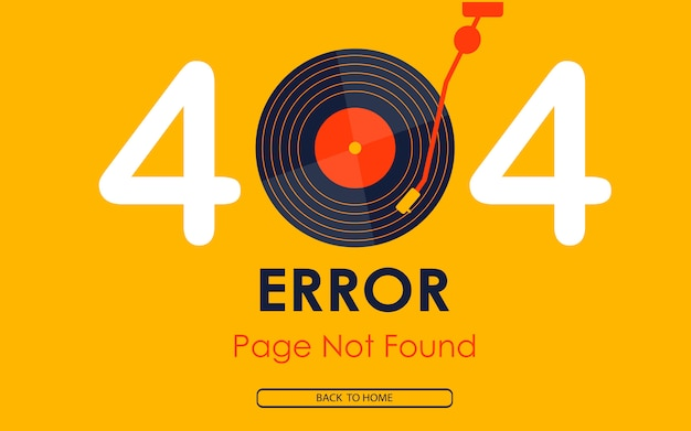 404エラーページが見当たりません