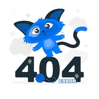 かわいい動物の概念図で404エラー