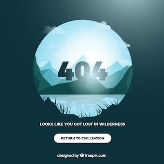 404 ошибка фона