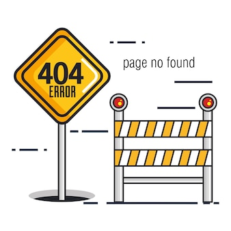 404 значков ошибок подключения