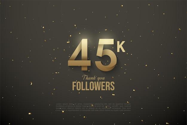 45k подписчиков.