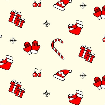 49. beautiful xmas pattern with ornaments.