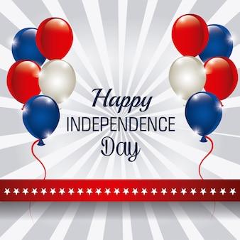 С днем независимости, 4 июля, сша дизайн