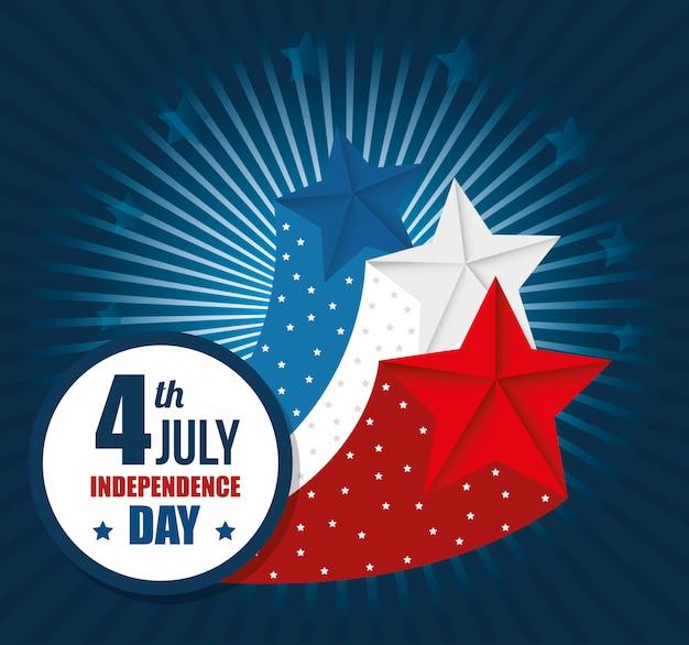 Сша с днем независимости, празднованием 4 июля