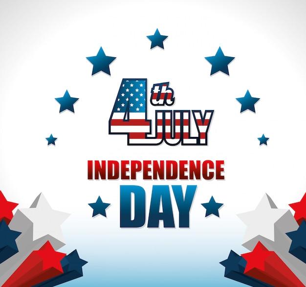 С днем независимости, празднование 4 июля в соединенных штатах америки