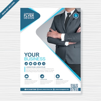 Корпоративный бизнес обложка а4 флаера