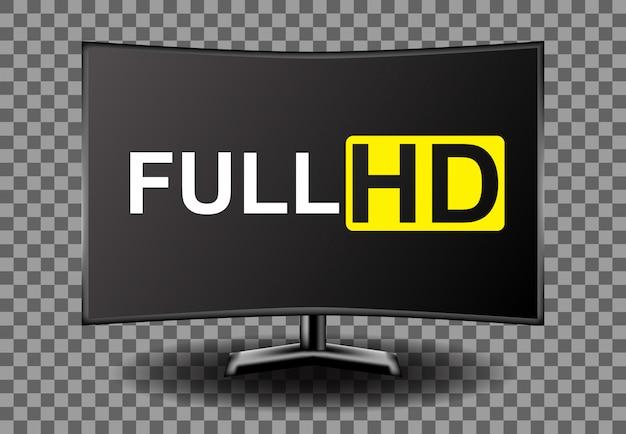 4k 풀 hd 텔레비전