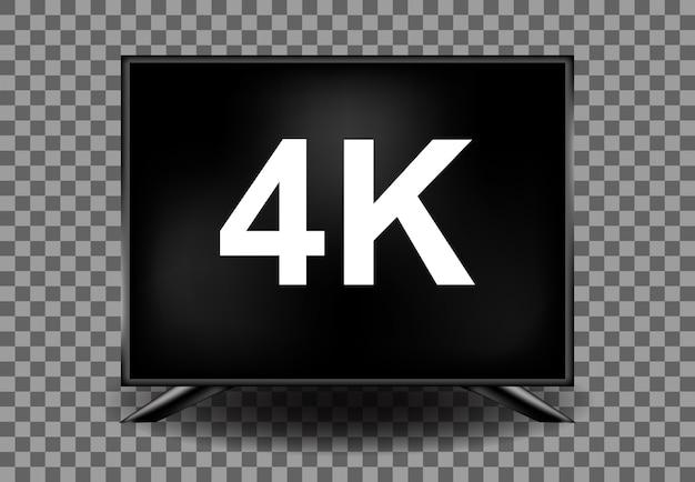 4k空のモニター