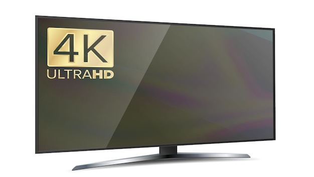 4k画面解像度のスマートテレビ