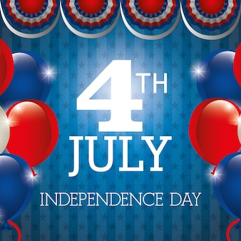 4th july independence day usa celebration