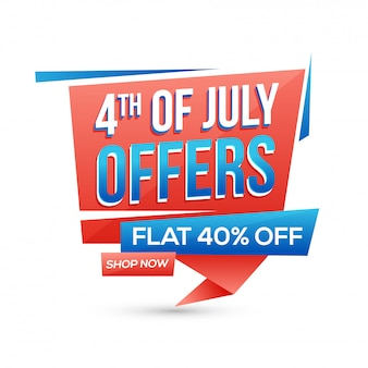 4th of july offers