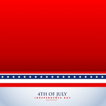 4th of july red background