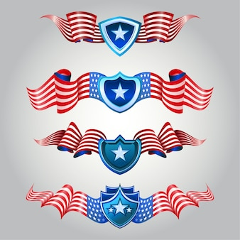 4th july ribbons