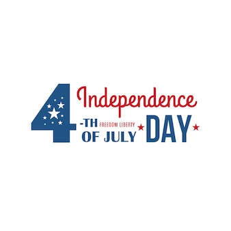 4th of july united states of america holiday banner