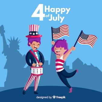 4 июля - день независимости