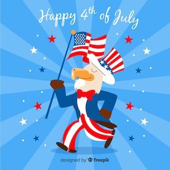 7 월 4 일 독립 기념일 배경