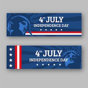 7月4日-独立記念日のバナーが設定されました