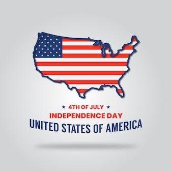 7月4日の独立記念日アメリカ