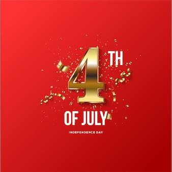 4 июля независимость соединенных штатов